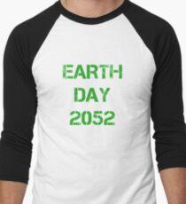Earth Day 2052 Men's Baseball ¾ T-Shirt