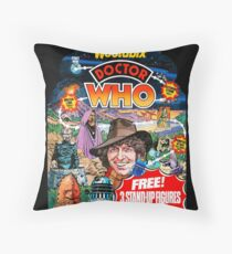 Doctor Who - 1977 Advertising Board Throw Pillow