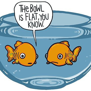 The bowl is flat, you know by mizzlecat
