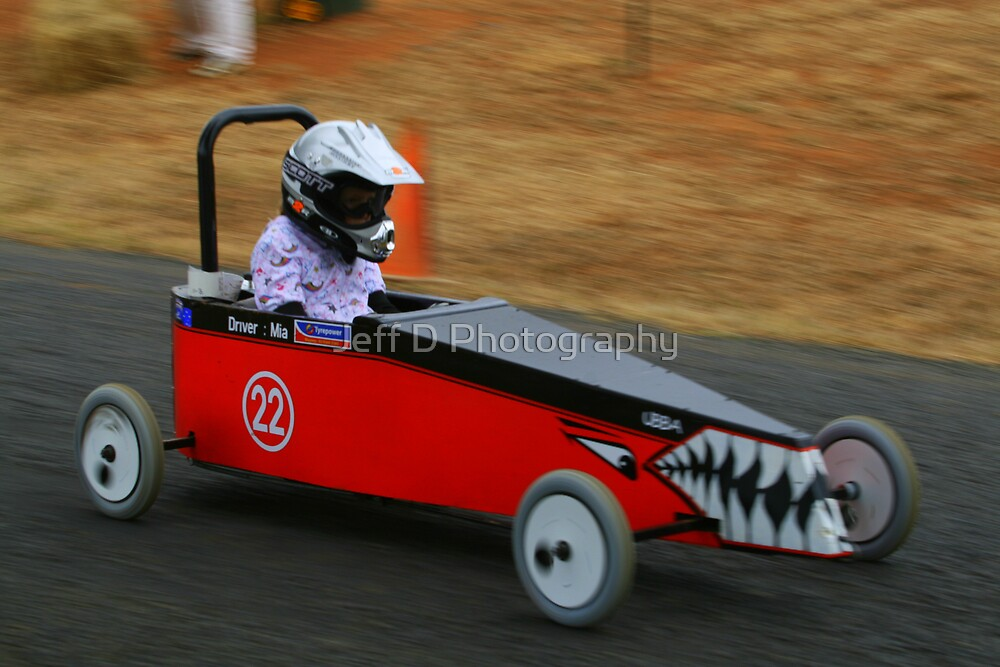 Billy Cart Derby - Mia by Jeff D Photography