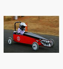 Billy Cart Derby - Mia Photographic Print