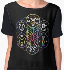 symbol//coldplay Chiffon Top