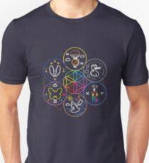 Camiseta ajustada símbolo // coldplay