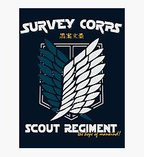 survey corps Photographic Print