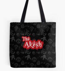 Grey Symbols: Akesh Merchandise Tote Bag