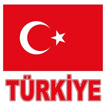 The Pride of Turkey - in Turkish - National Flag by Chunga