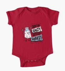 Don't be Salty Let's Get Shakey - Funny Salt Shaker One Piece - Short Sleeve