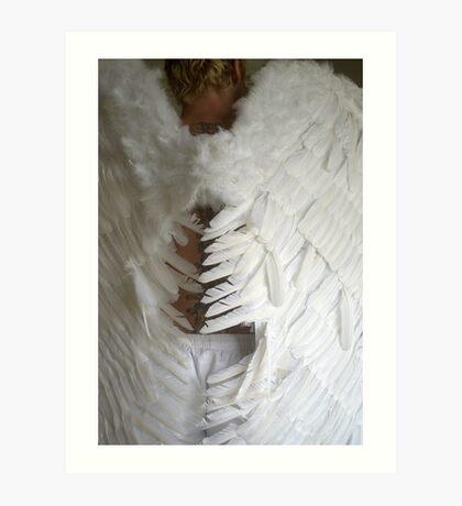 Angel's Tread Art Print