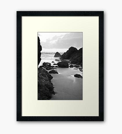 The Pass Framed Print