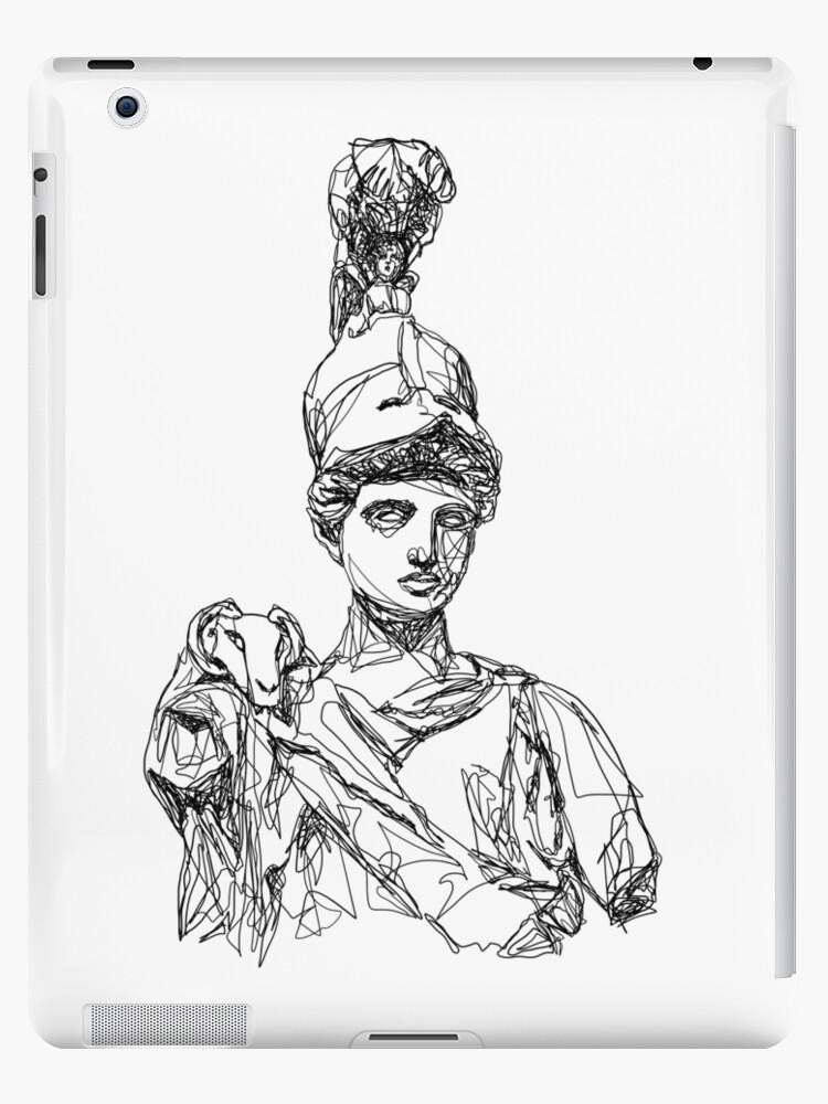 Athena Greek Goddess Ipad Case Skin By La Philocalist