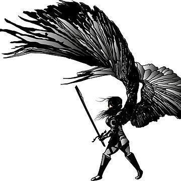 Angel Print by DarrelLeigh