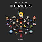 16-Bit MOTU Heroes Toyline by theoluk