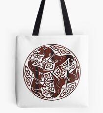 Celtic Horse Circle Tote Bag