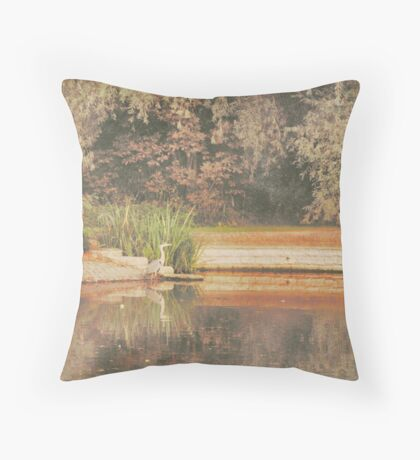 early one morning ....... Throw Pillow