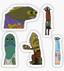 Spongebob Fish  Sticker