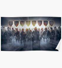 Rainbow Six Siege Operators Poster