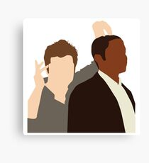 Shawn and Gus Canvas Print