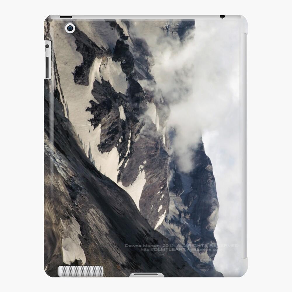 Mount St Helens lava dome closeup iPad Case & Skin
