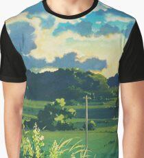 Totoro Landscape Graphic T-Shirt