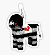 emo pinata : LARGE Sticker