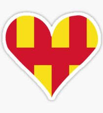 Northumberland Love Sticker