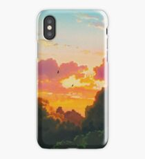 Studio Ghibli Landscape iPhone Case/Skin