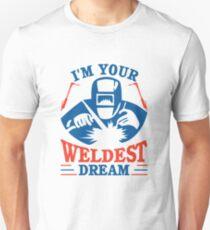 Best Welder Funny Welder Welding Craftsman Gift  Unisex T-Shirt