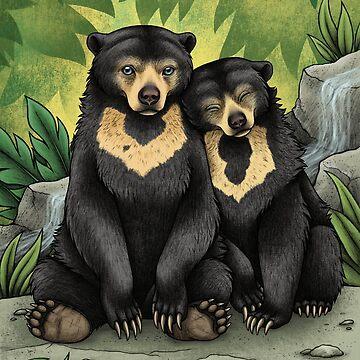 Sun Bears de lyndseygreen