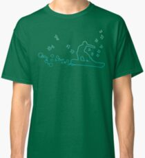 board with birds and bubbles Classic T-Shirt