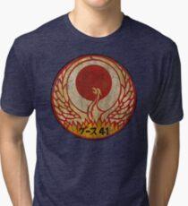 Vintage Emblem 41th Special Unit Tri-blend T-Shirt