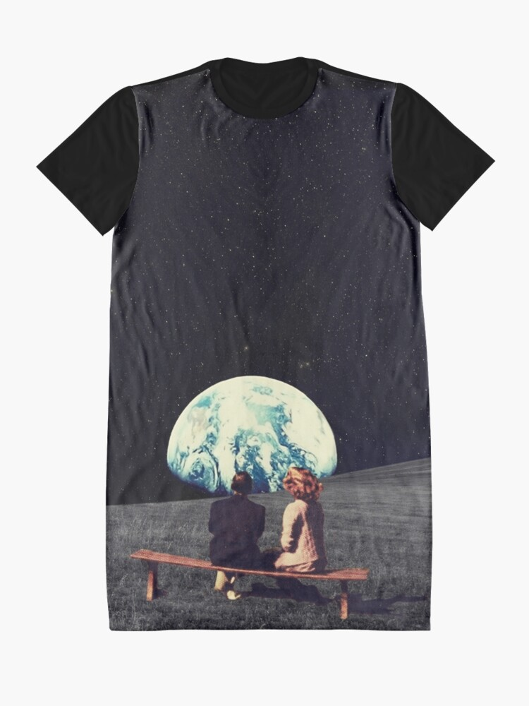 Alternate view of We Used To Live There Graphic T-Shirt Dress