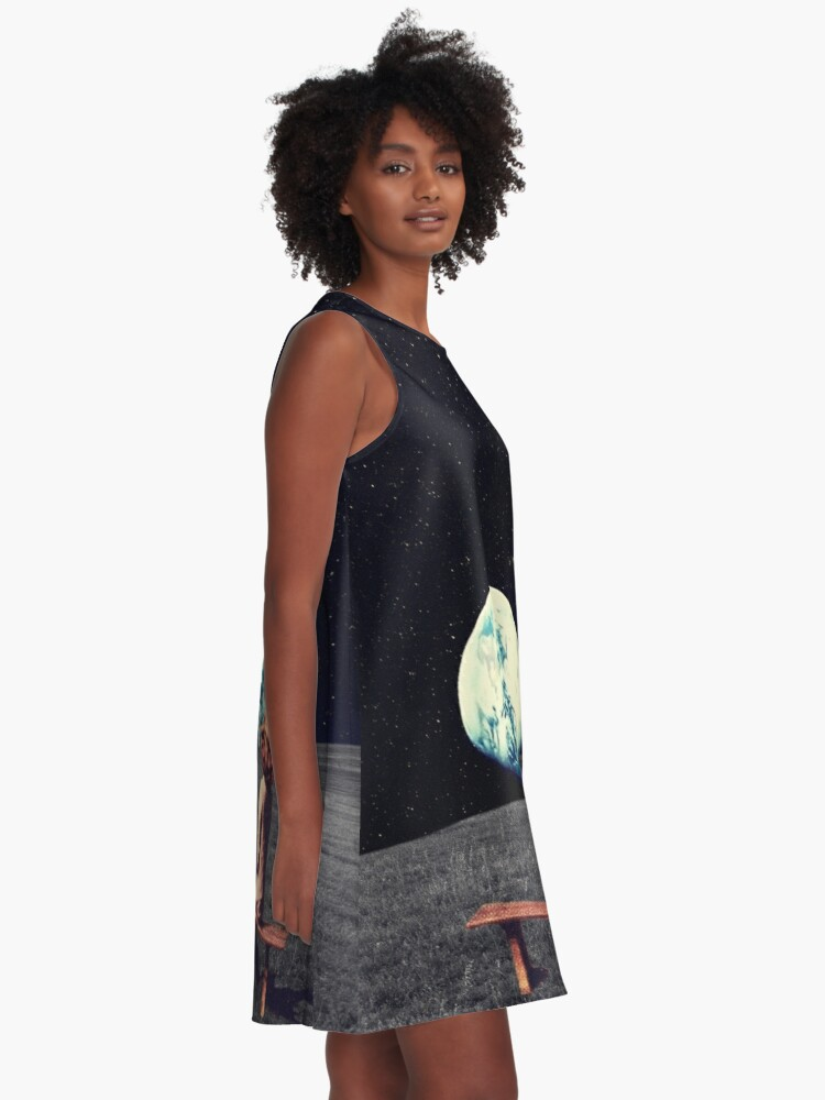 Alternate view of We Used To Live There A-Line Dress
