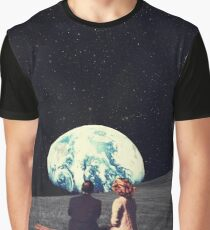 Wir lebten dort Grafik T-Shirt