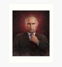 Vladimir Putin Time Person of the Year cover Art Print