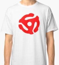 Red 45 Vinyl Record Symbol Classic T-Shirt