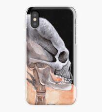 Ancient Elongated Skull Watercolor iPhone Case/Skin