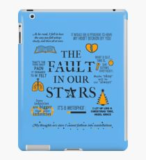 The Fault In Our Stars v.2 iPad-Hülle & Klebefolie