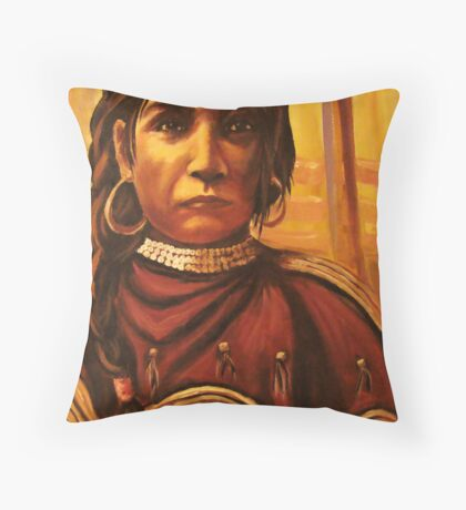 Dressed To Dance- Detail Study Throw Pillow