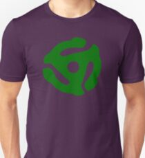 Green 45 Vinyl Record Symbol T-Shirt