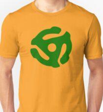 Green 45 Vinyl Record Symbol Unisex T-Shirt