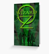 Off to see the wizard Greeting Card