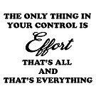 Make The Effort by cheriverymery