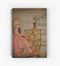 Music Girl Was Destined For Dumpster! Spiral Notebook