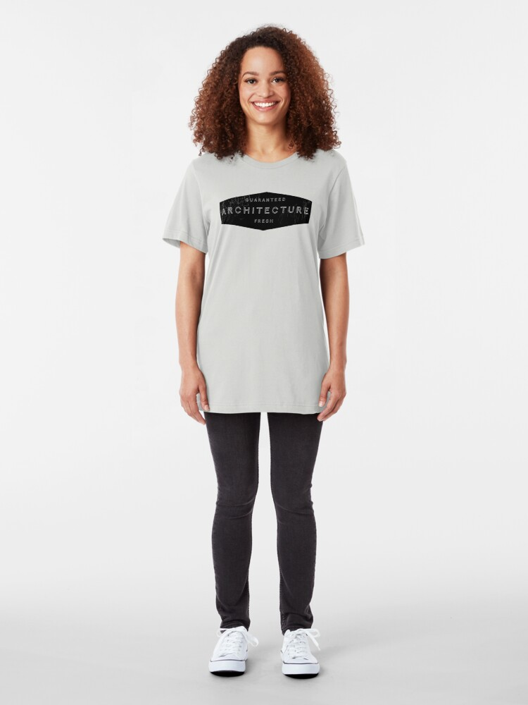 Alternate view of Architecture - Guaranteed Fresh! Slim Fit T-Shirt