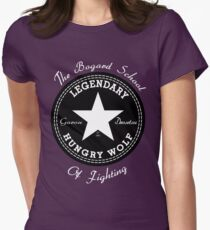 The Bogard School of Fighting Womens Fitted T-Shirt