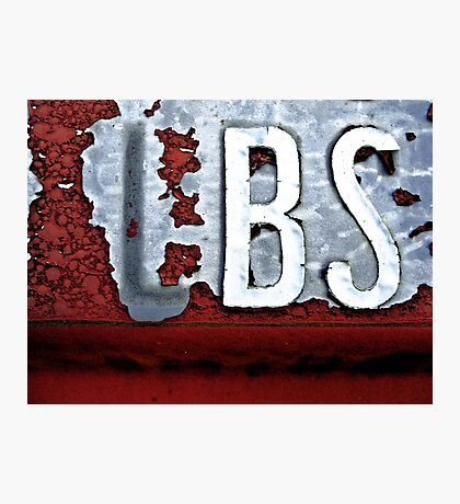 BS Photographic Print