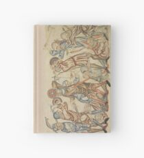 Medieval battle scene Hardcover Journal