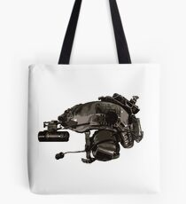 Tactical Brainbucket  Tote Bag
