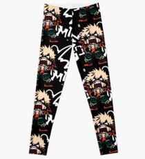 Mon héros universitaire: Katsuki Bakugo - BOOOM !! Leggings