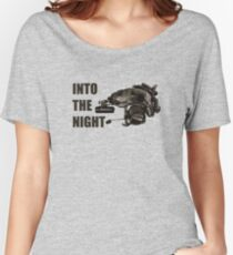 """Tactical Brainbucket """"into the night"""" Women's Relaxed Fit T-Shirt"""